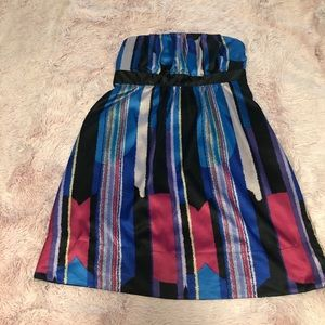 The Limited Strapless Dress SZ L